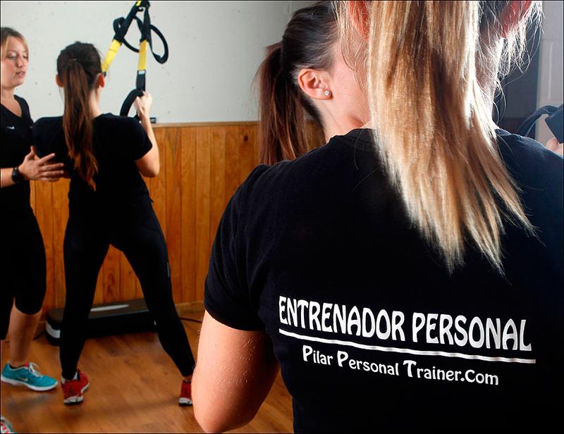 Entrenamiento personal con TRX
